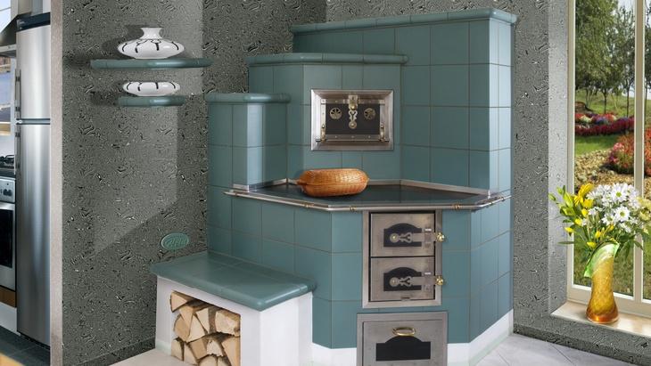 Kachlové sporáky je možné uplatnit iv současné kuchyni