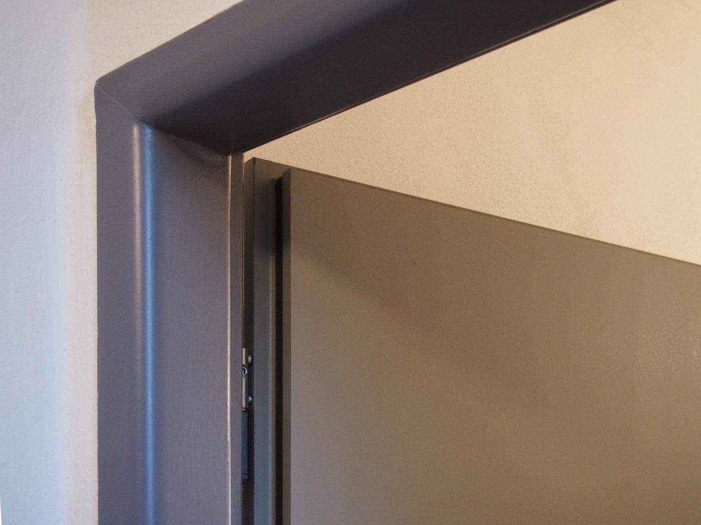 Stavební otvor pro ocelové zárubně