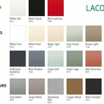 Lacobel 2020 colour range