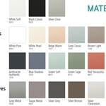 Matelac 2020 colour range