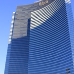 Hotel Vdara Las Vegas, zdroj: By Thomas Duesing from San Antonio, Texas (Vdara) [CC BY 2.0 (http://creativecommons.org/licenses/by/2.0)], via Wikimedia Commons