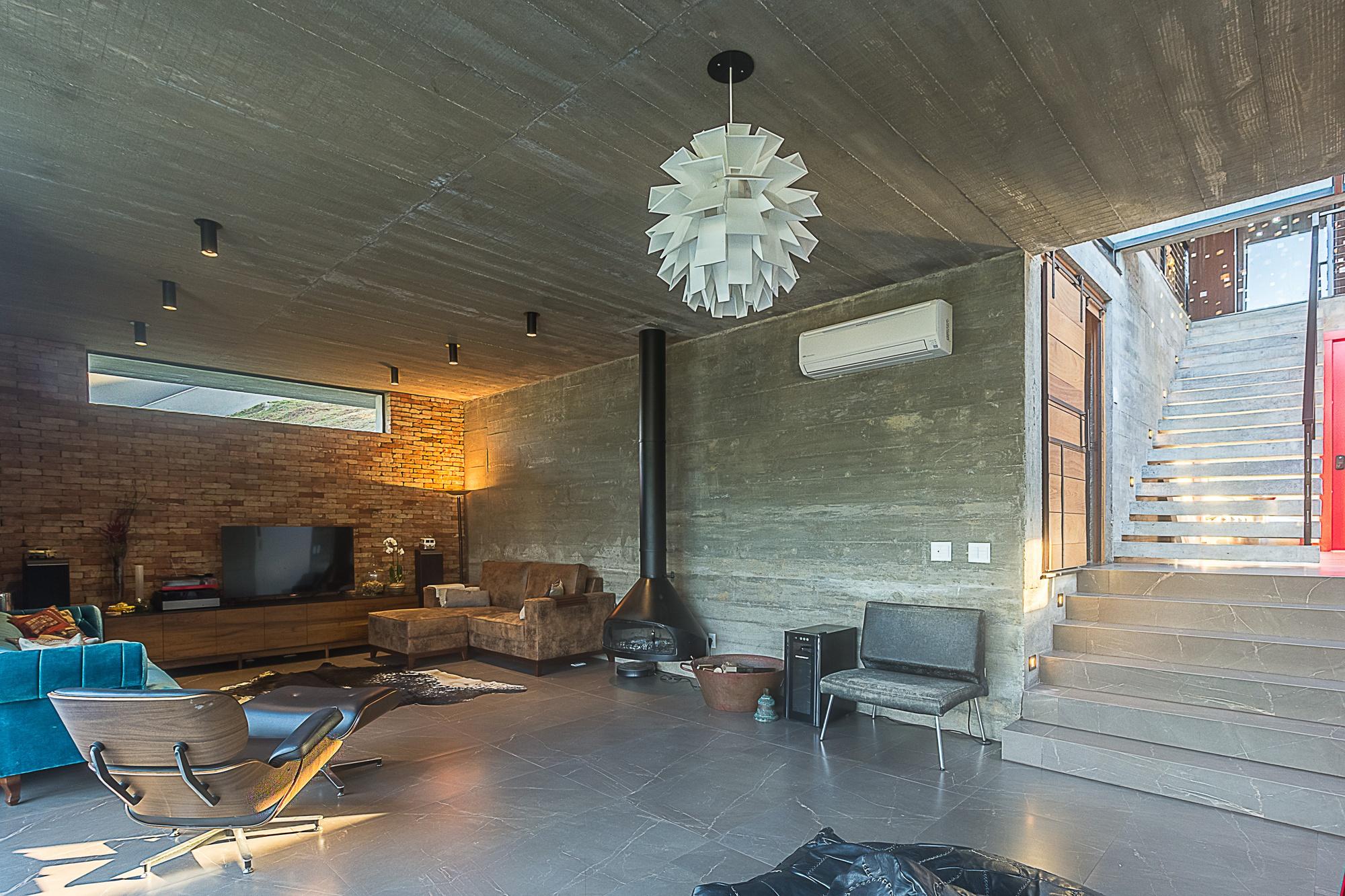 Moderní domy zevnitř