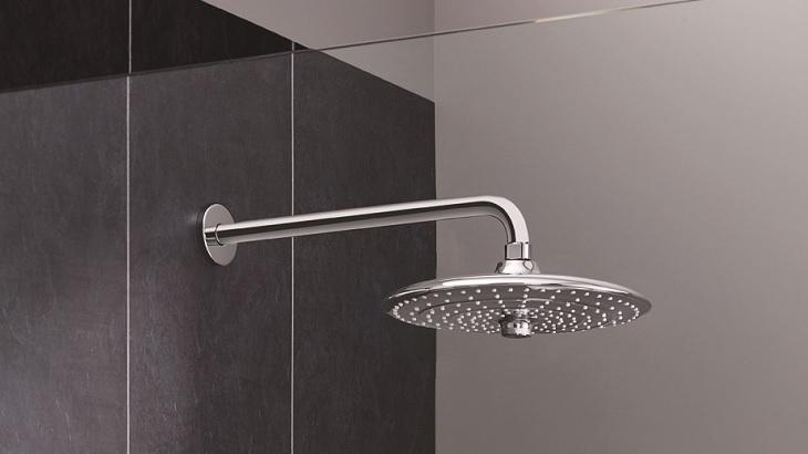 Euphoria 260 - třízónové konstrukce pro výjimečný sprchový zážitek