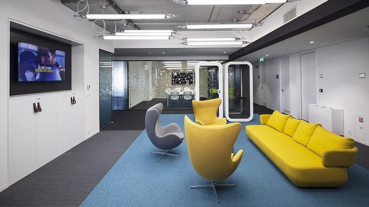 Zdravá kancelář CBRE Zasedačka roku 2017 Finalista SAP Service