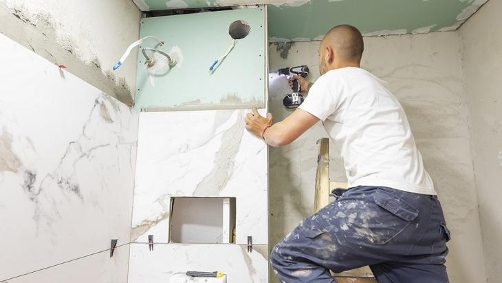 Rekonstrukce koupelny - sádrokarton