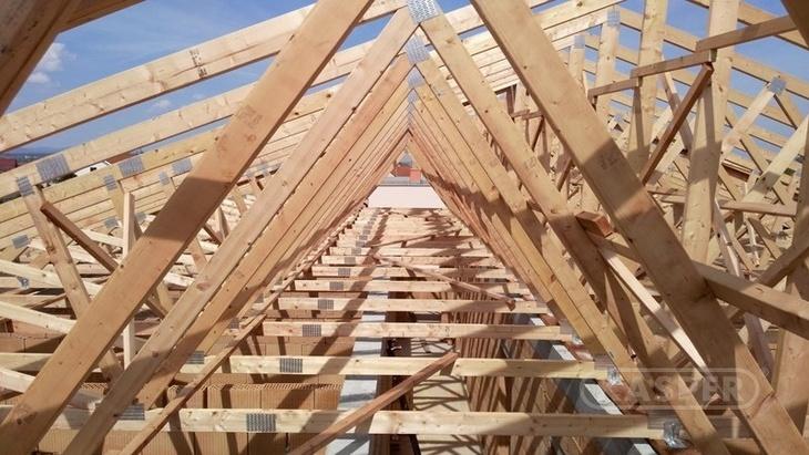 Jakou zvolit nosnou konstrukci pro novou střechu, foto Kasper CZ