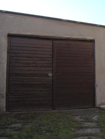 Velikost garážových vrat